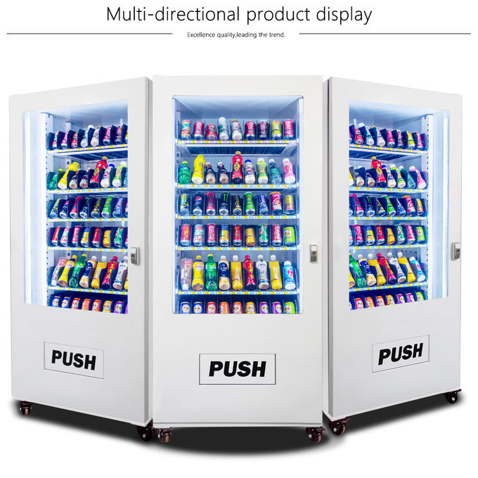 Park / Hotel Automatic Vending Machine ,  Self Service Milk Vending Machine With Bill Accepter 0