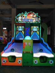 China Parents / Kids Bowling Redemption Arcade Machines Wooden Plastic Material supplier