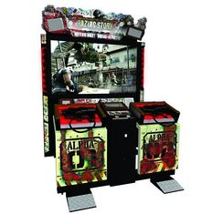 China 2 People Upright Arcade Machine , 300 Watt Large Multi Game Arcade Machine supplier