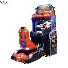 China Metal Force Car Racing Arcade Machine 110V / 220V Voltage 200kg Weight Colored supplier