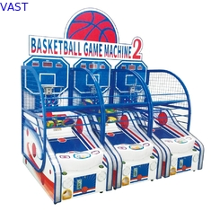China Crazy Hoop Basketball Shooting Game Machine For Kids Coin Operated 120W Power supplier