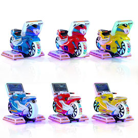 China Coin Operated Kids Game Machine Kiddie Rides Racing Car Motorcycles 12 Months Warranty supplier
