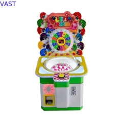 China Lollipop Arcade Pusher Candy Gift Vending Machine For Amusement Park / Museum supplier