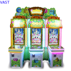 China Attractive Happy Eliminate Lottery Ticket Vending Machine Fiberglass Material supplier