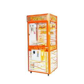 China Doll Crane Vending Coin Operated Game Machine / Customize Arcade Candy Claw Machine supplier
