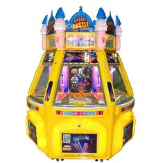 China 6 Players Dream Castle Pinball Game Machine Coin Pusher Metal + Acrylic + Plastic Material supplier