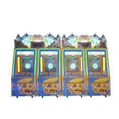 China Coin Operated Castle Maze Coin Pusher Game Machine For Amusement Game Center supplier