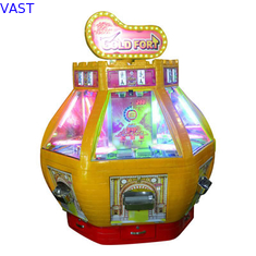 China Six Players Redemption Arcade Machines Win Prize Lottery Customize Color supplier