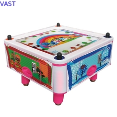 China Kids Coin Pusher 4 Person Air Hockey Arcade Game Machine 50Hz 380W supplier