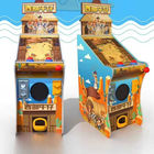 West Cowboy Kids Pinball Game Machine With Wood Cabinet Material