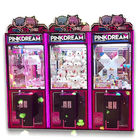 Good price PVC Material Dream Doll Claw Machine With LED Light / Arcade Crane Machine online