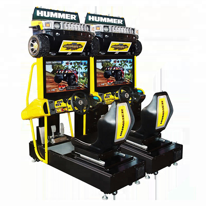 Yonee Car Racing Arcade Machine 1060 * 700 * 1840mm Size For 1 - 2 Players