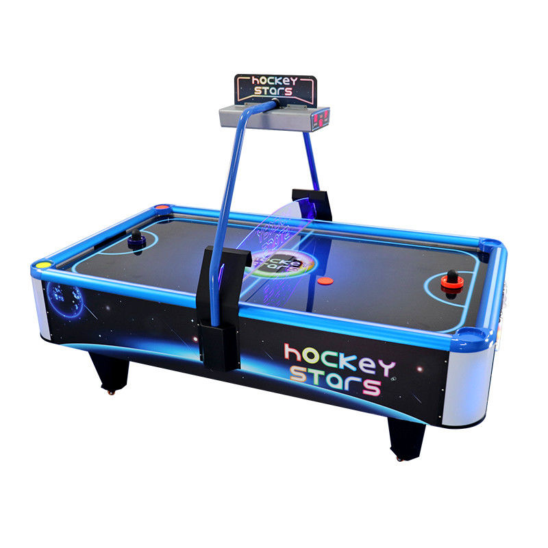 Portable Stars Air Hockey Arcade Machine , Square Hockey Game Machine
