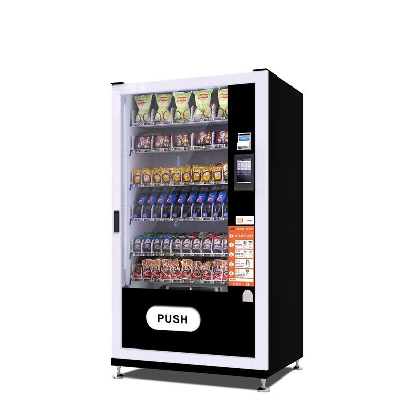 Snack / Food / Cold Drink Self Service Vending Machine 1933 * 1009 * 892mm Size