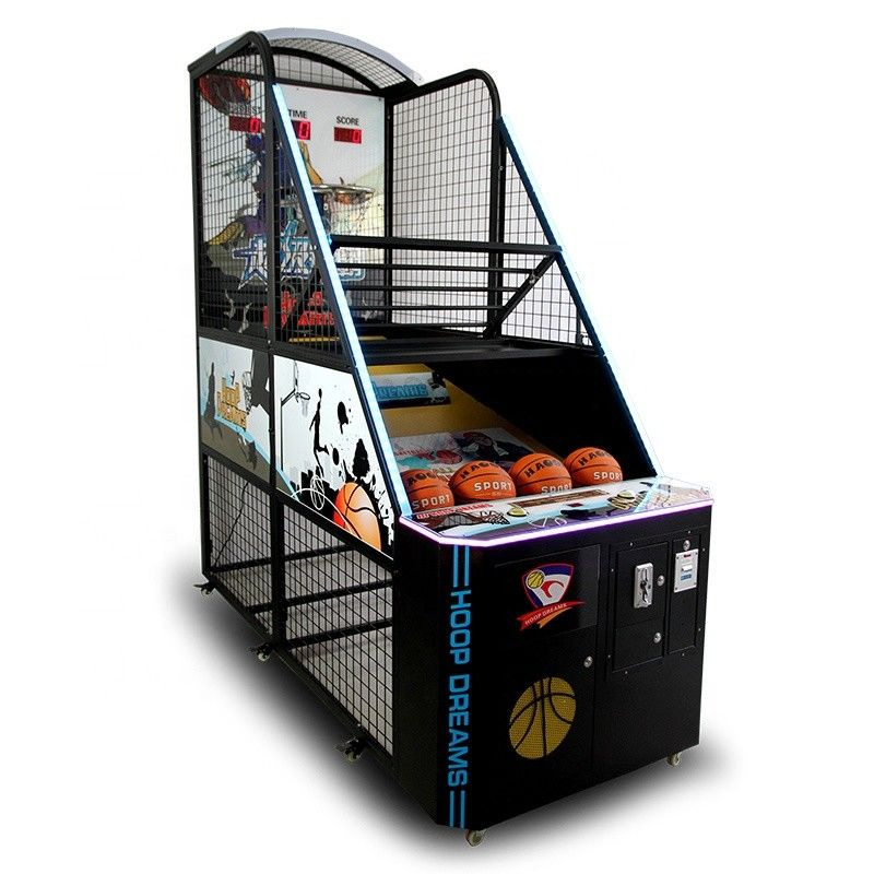 Indoor Amusement Electronic Basketball Arcade Game Machine Coin Operated