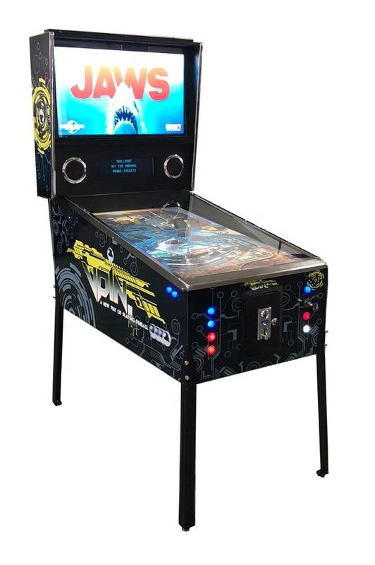 49'' Led Playfield Virtual Pinball Game Machine With 1080 Games 220V