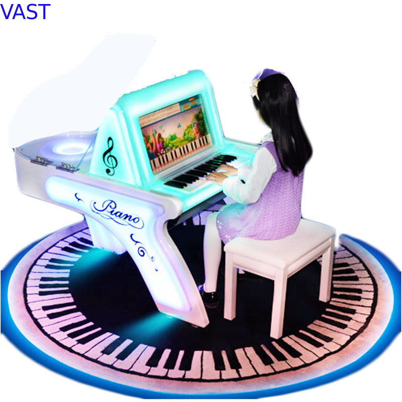 Children Coin Operated Karaoke Machine Piano Arcade Game For Playground