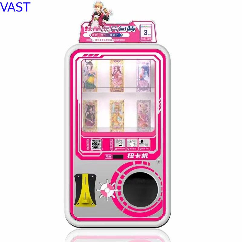 Card Twisting Kids Arcade Machine Children'S Card Vending Machine