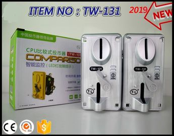 TW131 Coin Collector For Amusement Game Machine , 12 - 30mm Coin Accepter