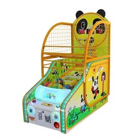 Panda Coin Operated Basketball Machines , Kiddy Arcade Games Machines