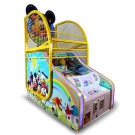 Mickey Mouse Pop A Shot Machine , Street Electronic Basketball Throwing Machine