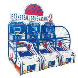 Crazy Hoop Basketball Shooting Game Machine For Kids Coin Operated 120W Power