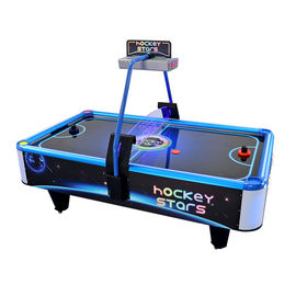 Lottery Ticket Air Hockey Arcade Machine For 3 - 15 Ages Customized Design
