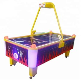 Indoor Commercial Air Hockey Table , 2 Player Coin Operated Air Hockey Table