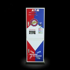 China Game Center Tokens Currency Exchange ATM Coin Change Machine Speed 1200pcs / Min factory