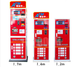 China Cinema Arcade Game Machine Parts Metal Cabinet ATM Currency Paper Bill Token Coin Exchanger factory