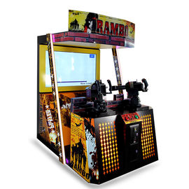 China First Blood Rambo Adventure Gun Shooting Arcade Machine Coin Pusher Type factory