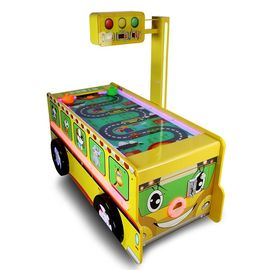 Bus Shape Big Sports Game Machine Air Hockey Table Credit Card Support