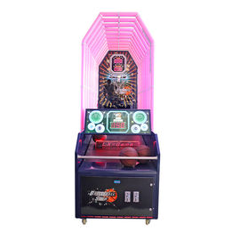 Adult Carnival Basketball Arcade Game Machine For Shopping Center