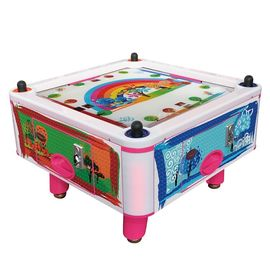 China Kids Coin Pusher 4 Person Air Hockey Arcade Game Machine 50Hz 380W factory