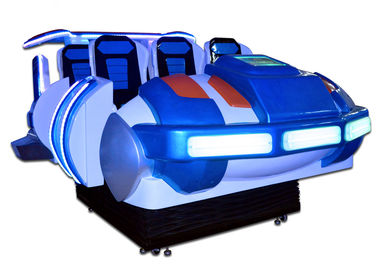 China Cool Family 6 Seats Spaceship 9D VR Game Machine Theme Park Flight Simulator For Adults factory
