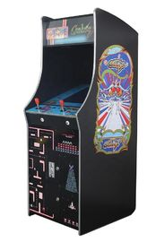 "Coin Pusher Upright Arcade Machine With 60 Games  / 19"" LED Screen"