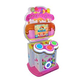 Coin Operated Music Arcade Drum Game Machine For Children And Adult