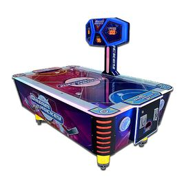 China Theme Park Air Hockey Arcade Machine With Metal / Wood / Plastic Material factory