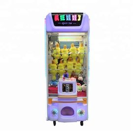 150w  Indoor Arcade Games Toys Vending Machines / Crane Claw Machine