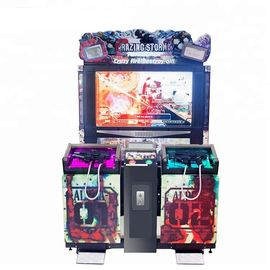55 Inch Scree Razing Simulator Shooting Game Machine Hardware , Plastic Uptake Material