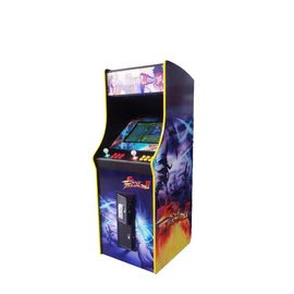 China 17'' LCD Video Arcade Mini Fighting Game Machine For Kid Amusement factory