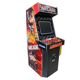 China 19 Inch LCD Upright Arcade Game Machine With Metal + Wooden Material factory