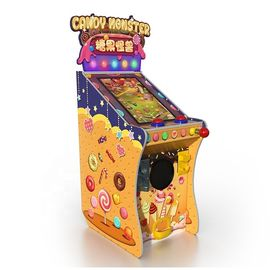 Children Candy Monster Pinball Arcade Video Game Machine For Shopping Mall