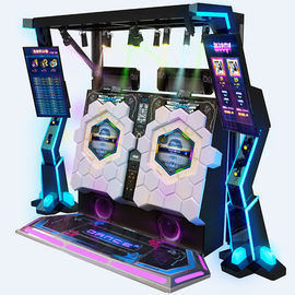 Arcade Video Dance Cube Coin Operated Music Machine For 1-2 Players