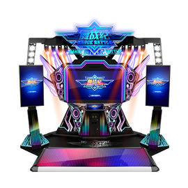 Douple Players PK Coin Operated Arcade Dance Machine For Playground