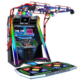 Video Just Dance Arcade Game Machine Matel + Acrylic Material Durable