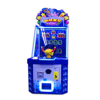 Stereo Sound Kids Ball Shooting Game Machine For Mall