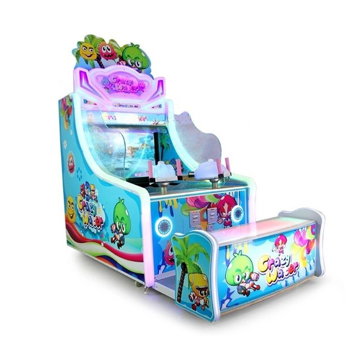 Water Shooting Ticket Redemption Game Machine Coin Operated CE SGS Certificate