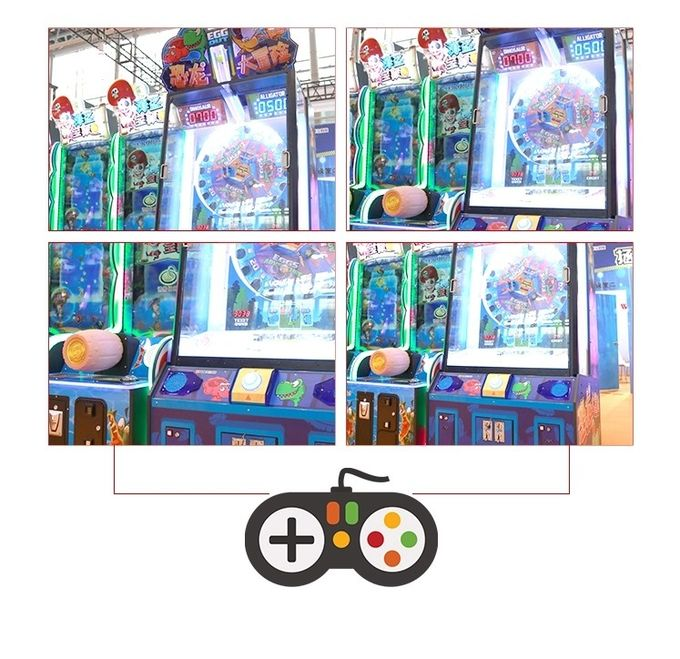 Indoor Happy Bouncing Ball Lottery Ticket Machine For Party 160KG
