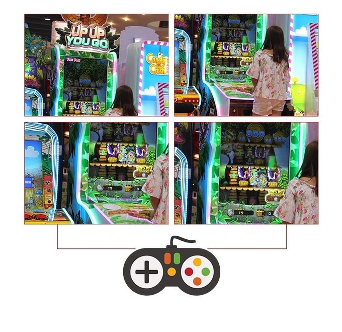 Classic 350W Redemption Arcade Machines For Children In Club And Bar